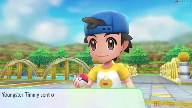 Watch and share Pokémon Let's Go Pikachu & Eevee: Walkthrough Part 3 - Nugget Bridge, Bill & Cerulean Gym GIFs by Lady Bow on Gfycat