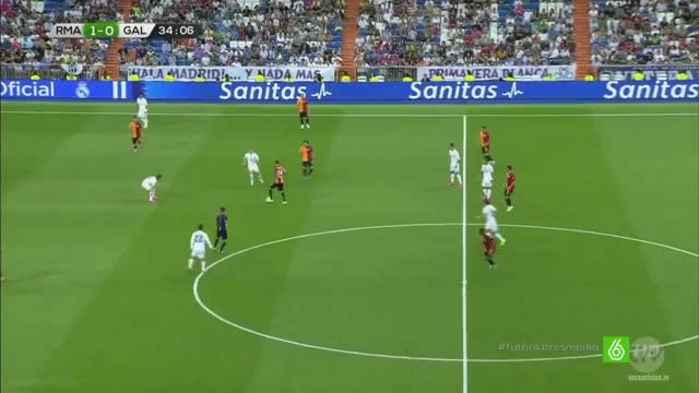 Watch and share Beautiful Team Play From Galatasaray Ends With A Horrible Finishing Against Real Madrid (reddit) GIFs by sertori on Gfycat