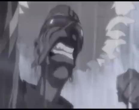 Afro Samurai vs afro robot bone111