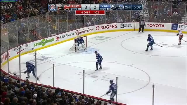 Watch Pettersson does a lap around the offensive zone then sauces it to a wide open Boeser for his 19th of the season GIF by Beep Boop (@hockeyrobotthing) on Gfycat. Discover more Vancouver Canucks, hockey GIFs on Gfycat