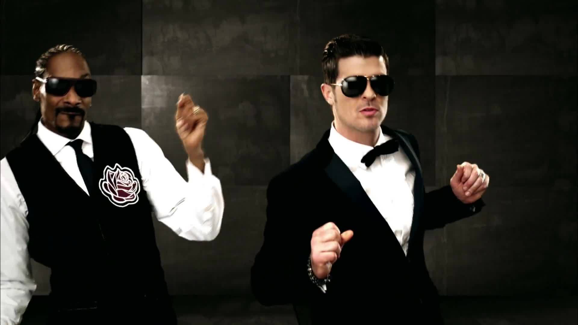robin, robin thicke, the, thicke, Robin Thicke - It's In The Mornin ft. Snoop Dogg GIFs