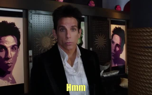 Watch this hmm GIF by The GIF Forge (@leahstark) on Gfycat. Discover more ben stiller, confused, derek zoolander, hmm, thinking, thinking face, zoolander GIFs on Gfycat