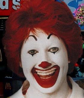 Watch and share Ever Wonder What Ronald McDonald Looks Like Without Makeup? GIFs on Gfycat