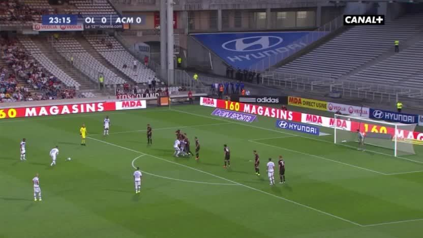 soccer, soccergifs, Nabil Fekir free-kick vs AC Milan (reddit) GIFs