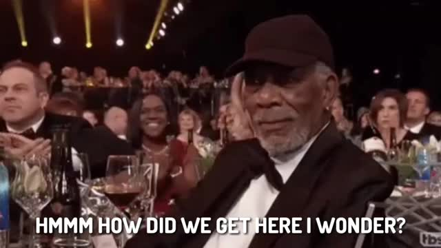 Watch and share How Did We Get Here GIFs and Morgan Freeman GIFs by Cindy046  on Gfycat