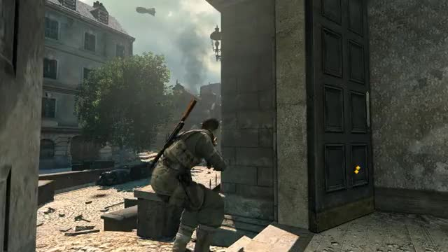 Watch and share [Sniper Elite V2] He Did Nazi That Coming. (reddit) GIFs by criskrossed on Gfycat