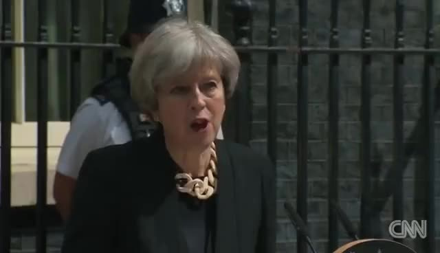 Watch and share Theresa May: 'Enough Is Enough' GIFs on Gfycat